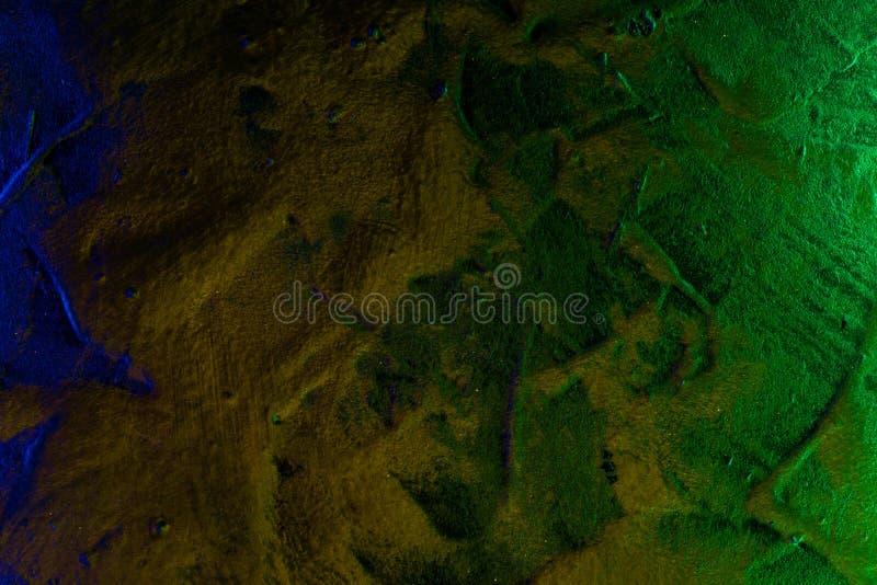 Idérik glänsande lättnadsmurbruktextur - härlig abstrakt fotobakgrund arkivbild