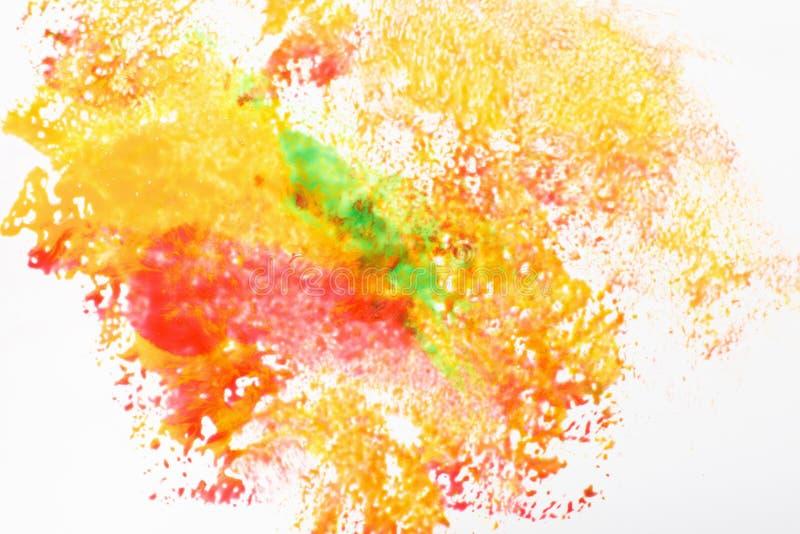 Idérik konst, abstractionism Festivalholifärger arkivfoto