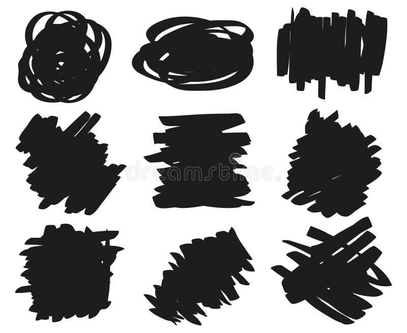 Idérik konst illustration vektor illustrationer