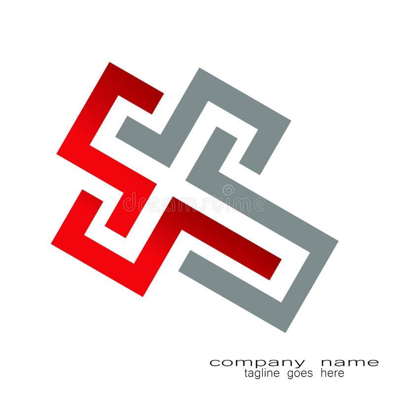 Idérik logo för bokstav x för prövkopiadesign vektor illustrationer