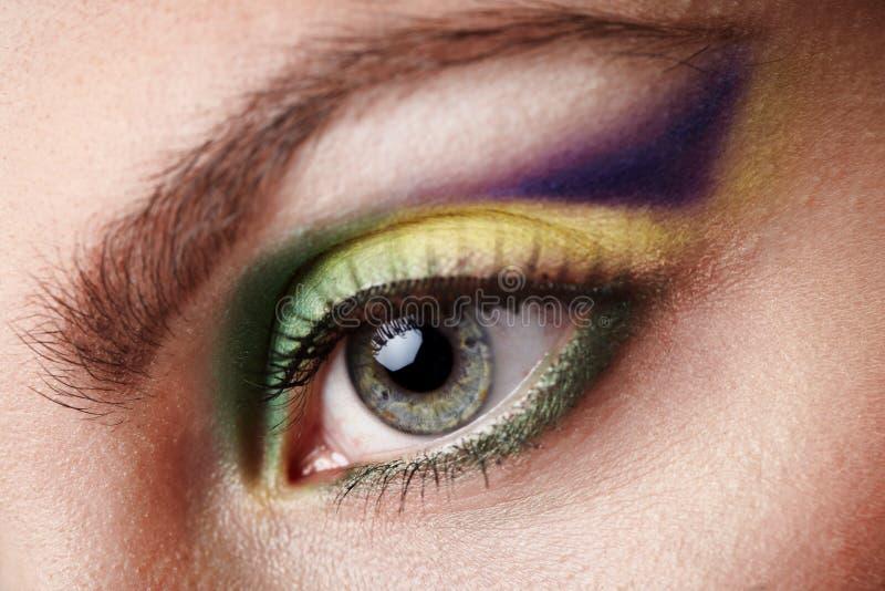 idérik makeup arkivfoto
