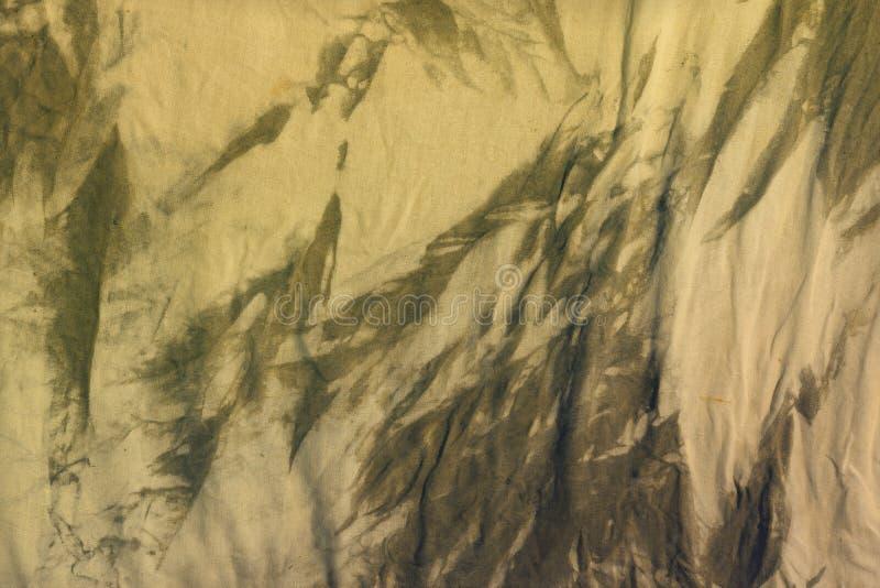 Idérik orange smutsig färgad torkduketextur - nätt abstrakt fotobakgrund arkivbild