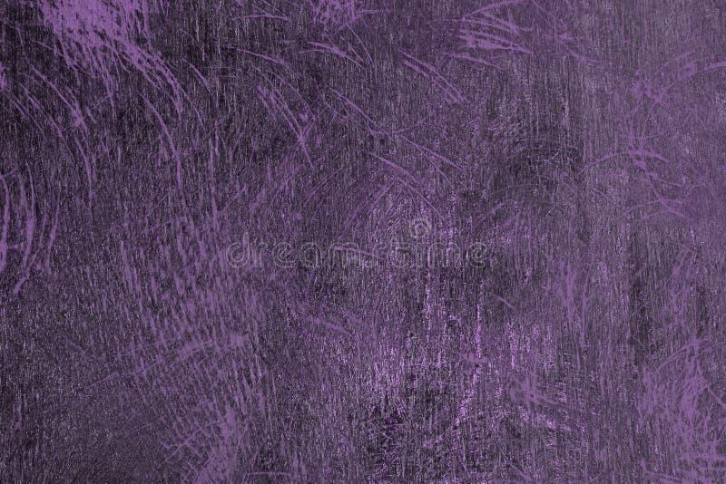 Idérik purpurfärgad skrapad ädelträplankatextur - härlig abstrakt fotobakgrund royaltyfria foton