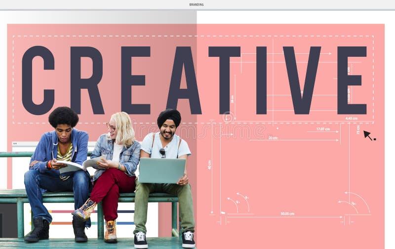 Idérik utveckling Insipire Concep för kreativitetidéinnovation royaltyfri fotografi