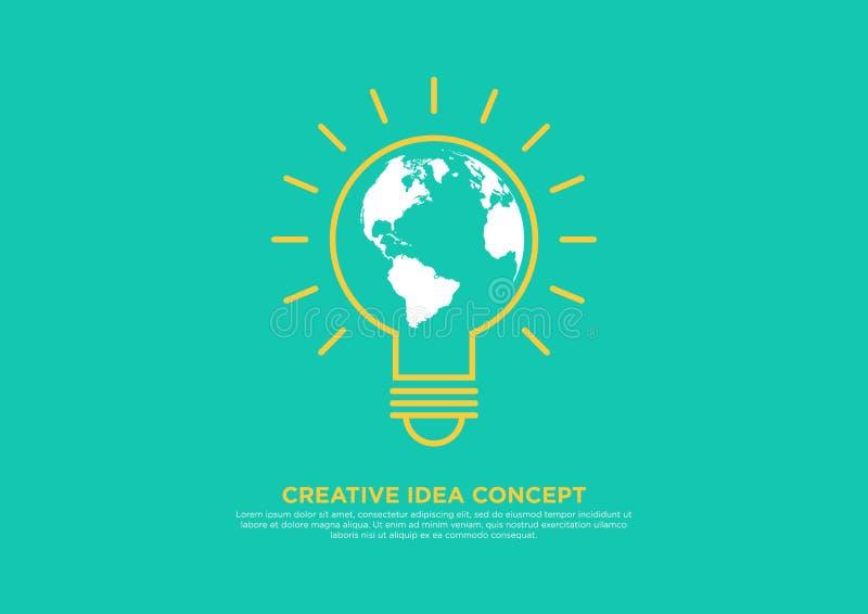 Download Idérikt Idébegrepp, Kläckning Av Ideervektorillustration Stock Illustrationer - Illustration av inspiration, ström: 78726364