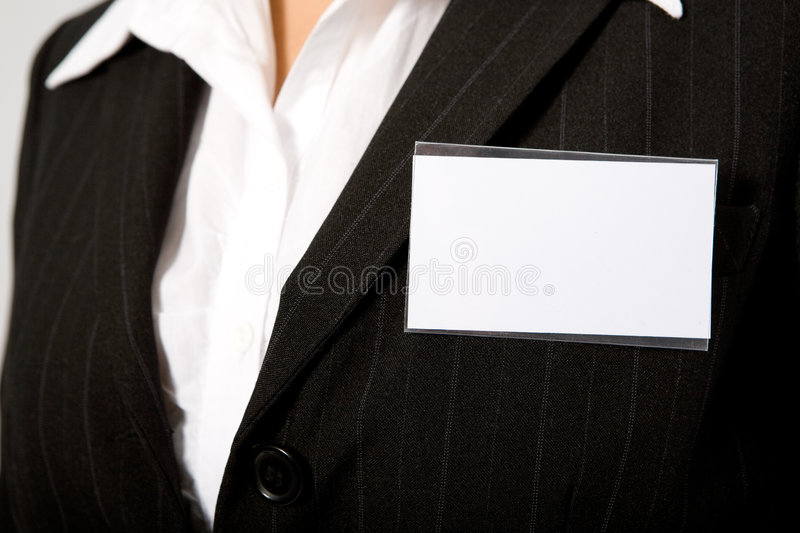 Download Id card stock photo. Image of convention, businesswoman - 5859396