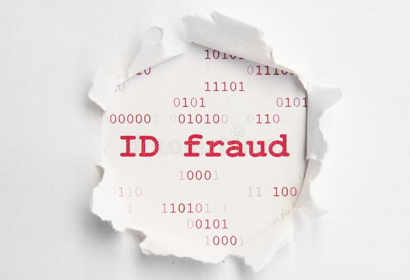 Download ID fraud stock photo. Image of crime, black, tech, abstract - 24757106