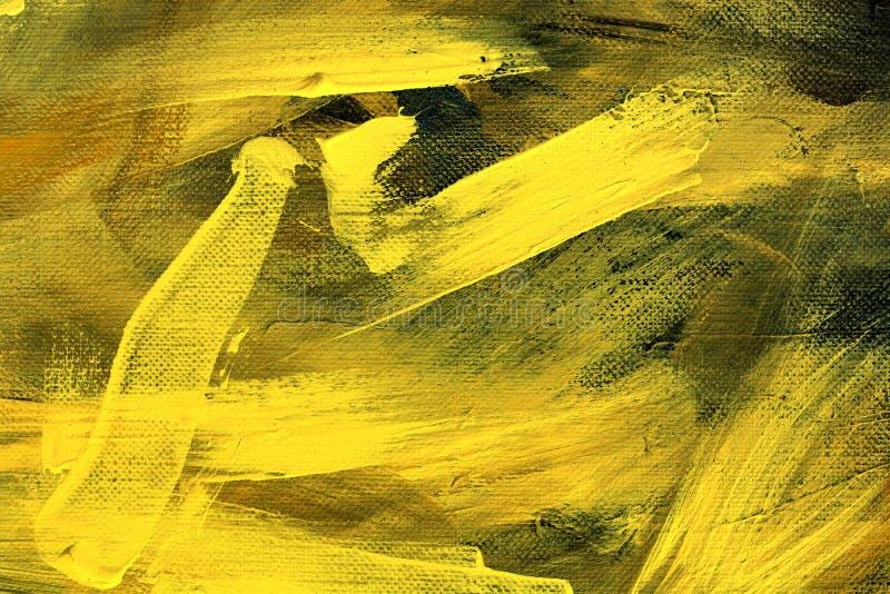 Id?rik abstrakt hand m?lad bakgrund, tapet, textur Backgrounde f?r abstrakt konst arkivbild
