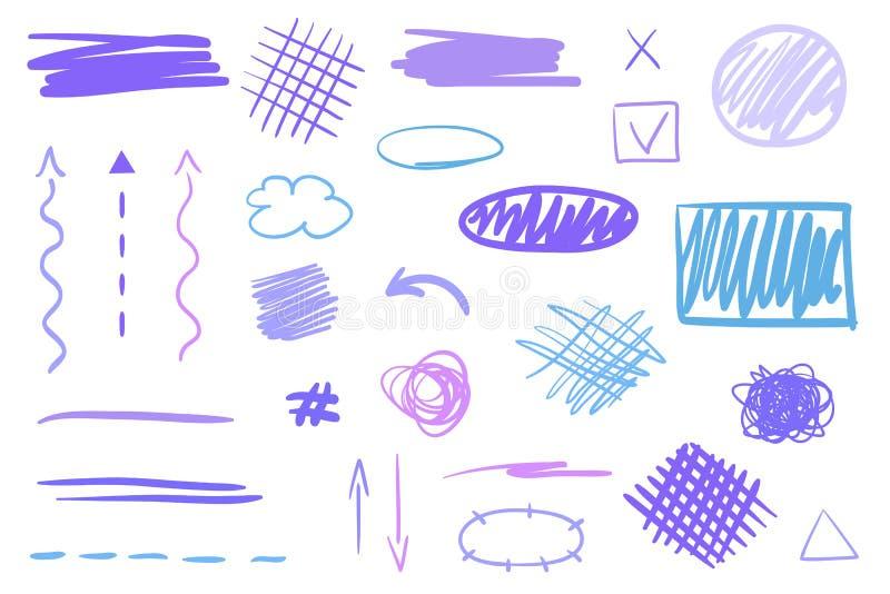 Id?rik konst illustration stock illustrationer