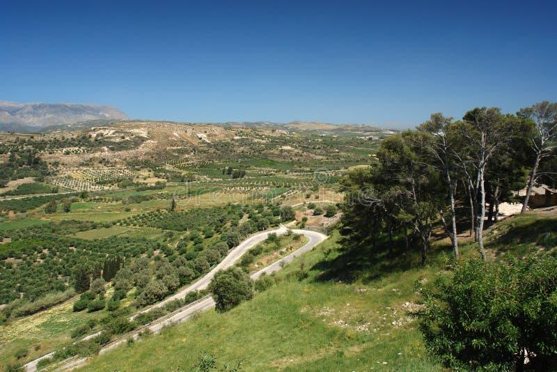 Ida Mountains in crete island