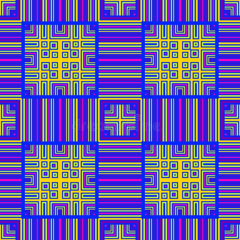 A idade de computador, placa de circuito gosta do teste padrão sem emenda ilustração royalty free