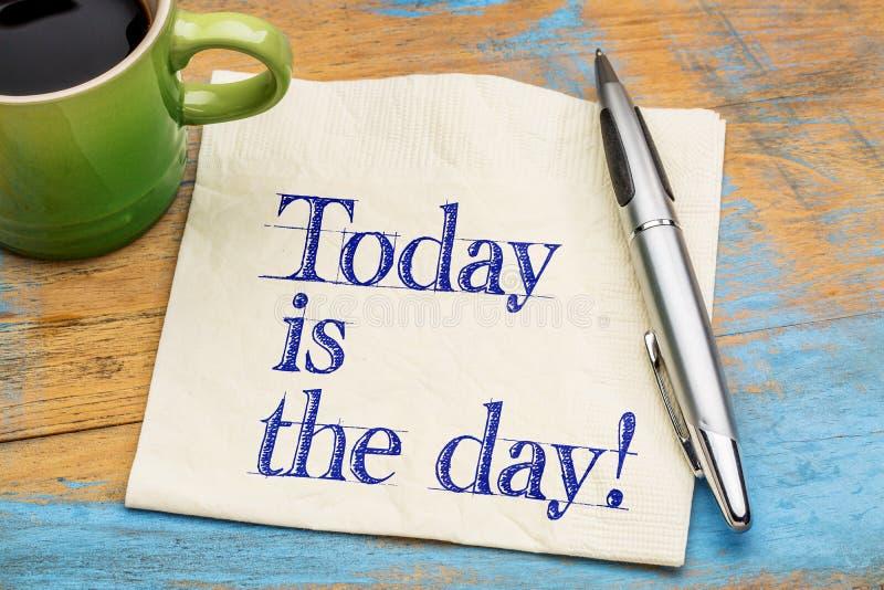 Idagen är dagpåminnelsen arkivfoton