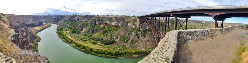 Idaho bridge stock photo