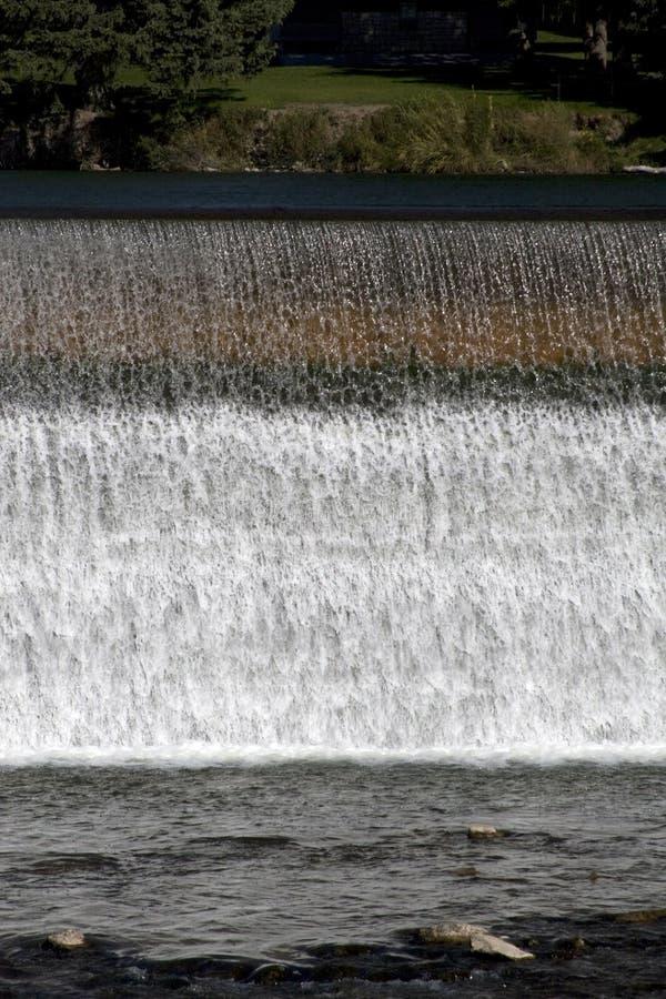 Idaho Falls. View of a waterfall at Idaho Falls, Idaho, USA stock images