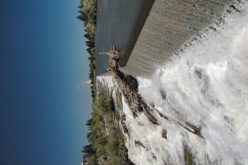 Idaho Falls Waterfall royalty free stock image