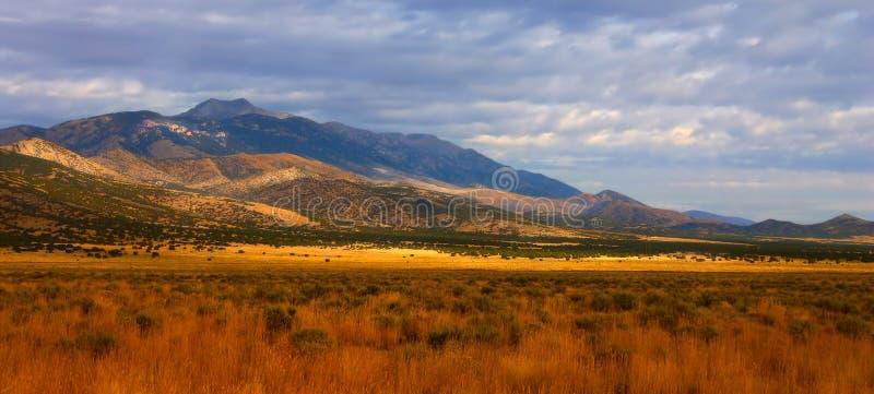 Idaho gór i równiien panorama obraz royalty free