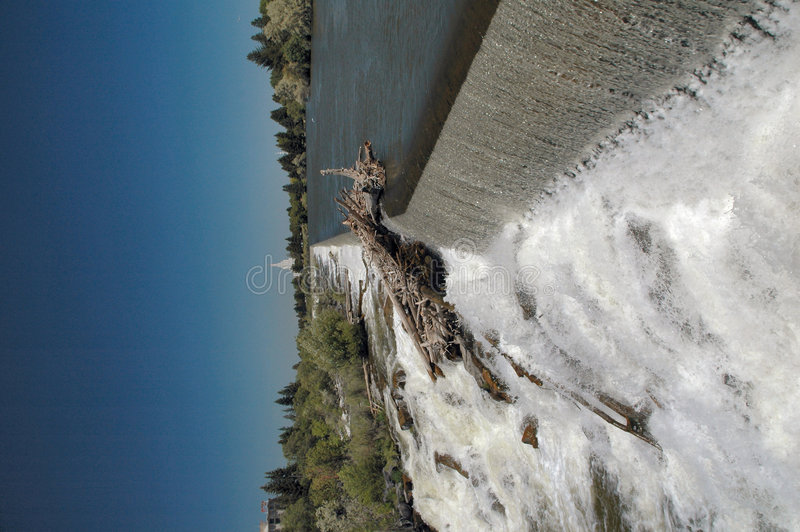 Idaho spada do wodospadu zdjęcia stock
