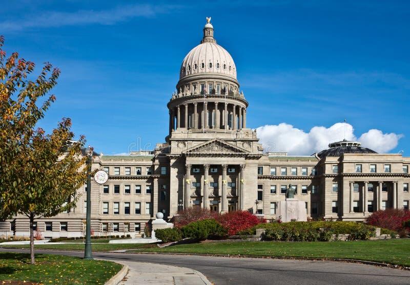 Idaho State Capitol, Boise, Idaho. Idaho State Capitol in Autumn, Boise, Idaho stock photo