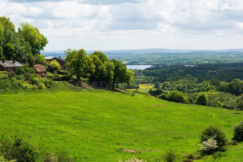 Ide hill landscape, Kent royalty free stock photos