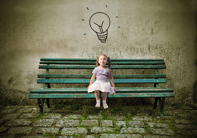 Download Idea stock image. Image of intelligence, bench, wall - 19975945