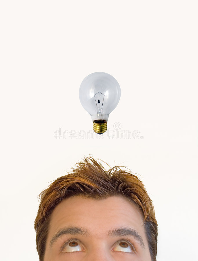 The idea! stock images