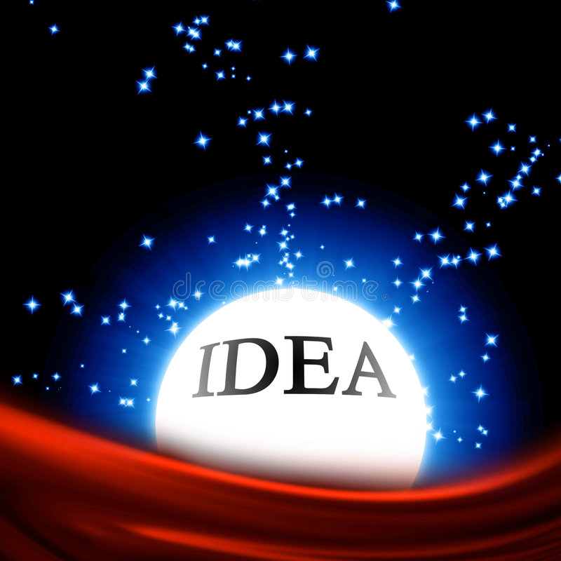 Idea royalty free illustration