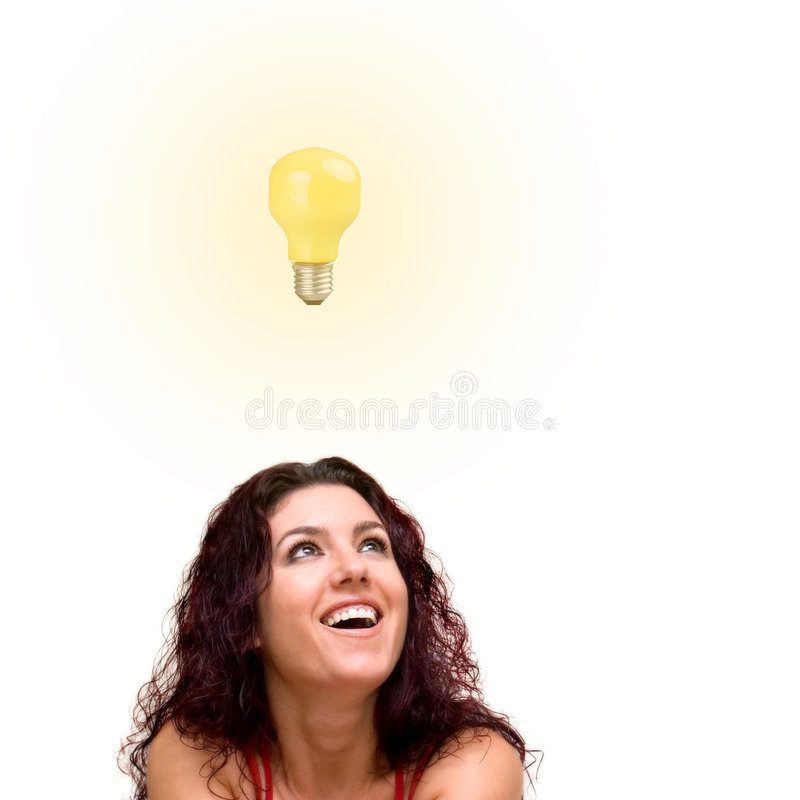 Download Idea stock photo. Image of expression, look, bright, luminous - 4585406