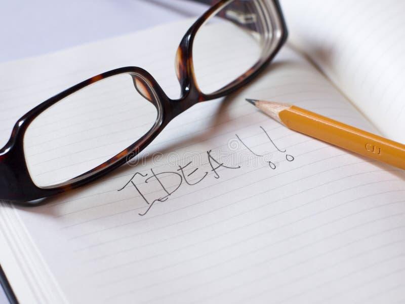 ¡Idea!! foto de archivo libre de regalías