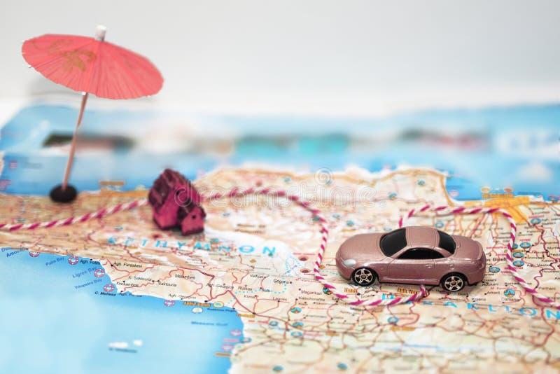 Idea abstracta del alquiler un coche imagen de archivo libre de regalías
