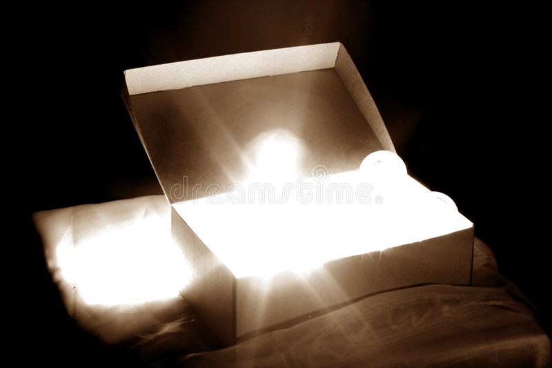 Idea box stock photography