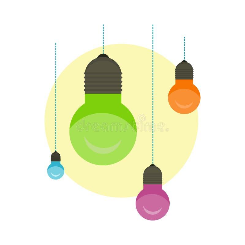 Ight Bulb Idea In Illustration Stock Illustration