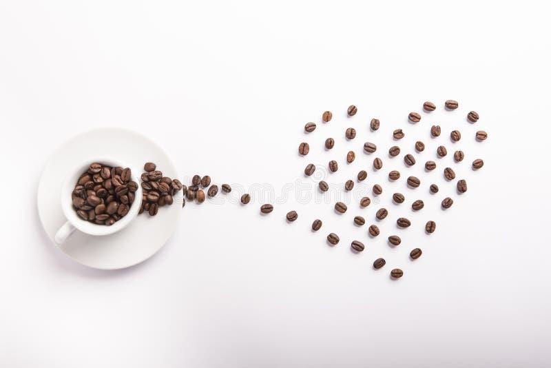 Idea concettuale di caffè fotografie stock libere da diritti