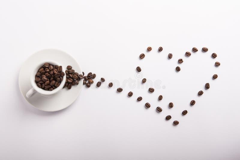 Idea concettuale di caffè fotografia stock