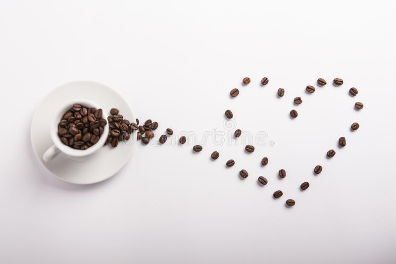 Idea concettuale di caffè fotografia stock libera da diritti