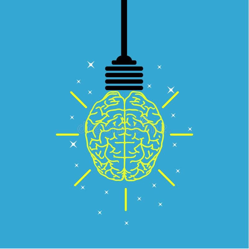 Idea creativa del cervello illustrazione vettoriale
