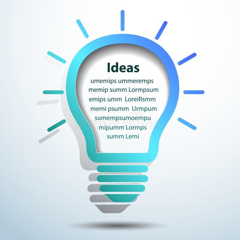 Download Idea de la bombilla ilustración del vector. Ilustración de ideas - 42429652