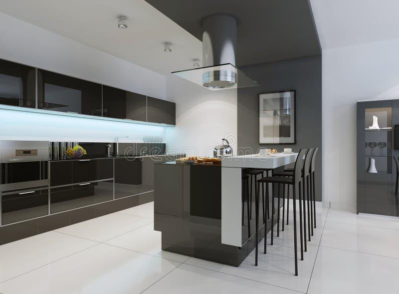 download idea de la cocina minimalista imagen de archivo imagen de mrmol muebles - Cocina Minimalista