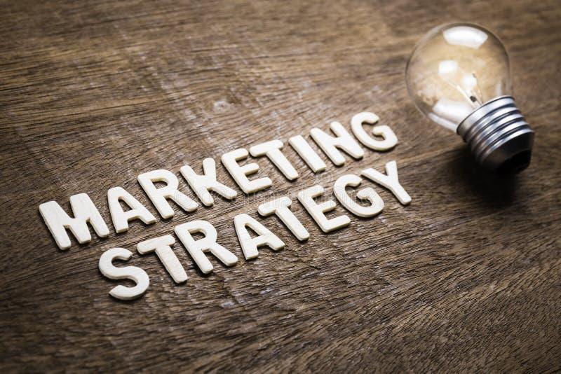 Idea de la estrategia de marketing fotografía de archivo libre de regalías