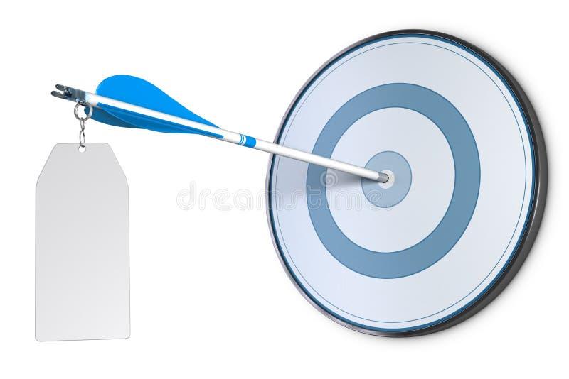 Idea de la publicidad de negocio y concepto de la comunicación stock de ilustración