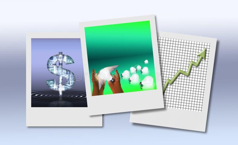 Idea del asunto stock de ilustración