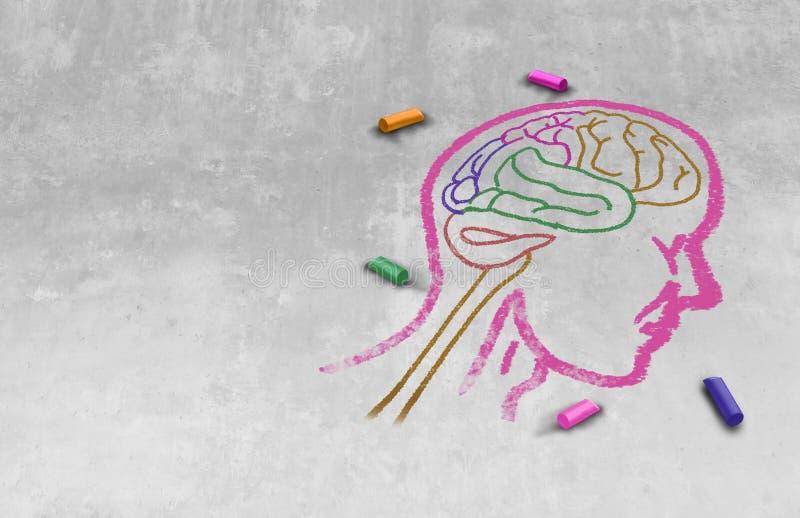 Idea del autismo ilustración del vector
