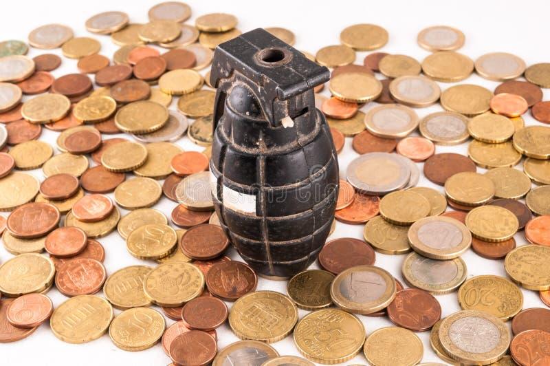 Idea del concepto del dinero del negocio foto de archivo libre de regalías
