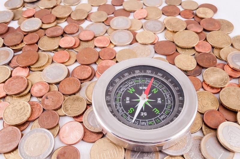 Idea del concepto del dinero del negocio imágenes de archivo libres de regalías