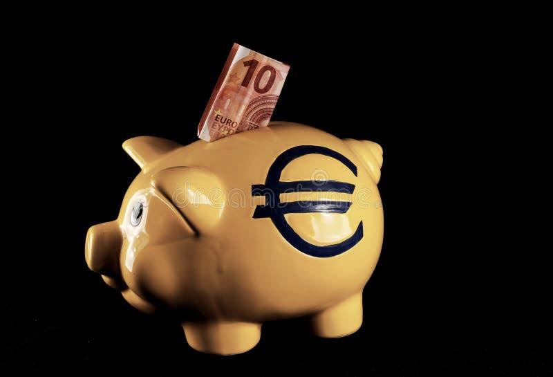 Idea del concepto del dinero del negocio fotografía de archivo libre de regalías