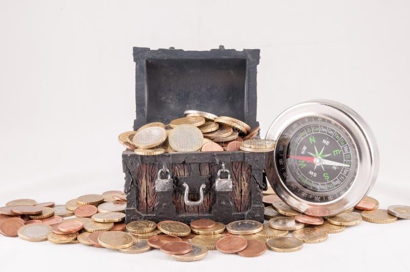Idea del concepto del dinero del negocio foto de archivo
