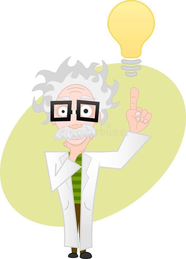 Idea del profesor stock de ilustración