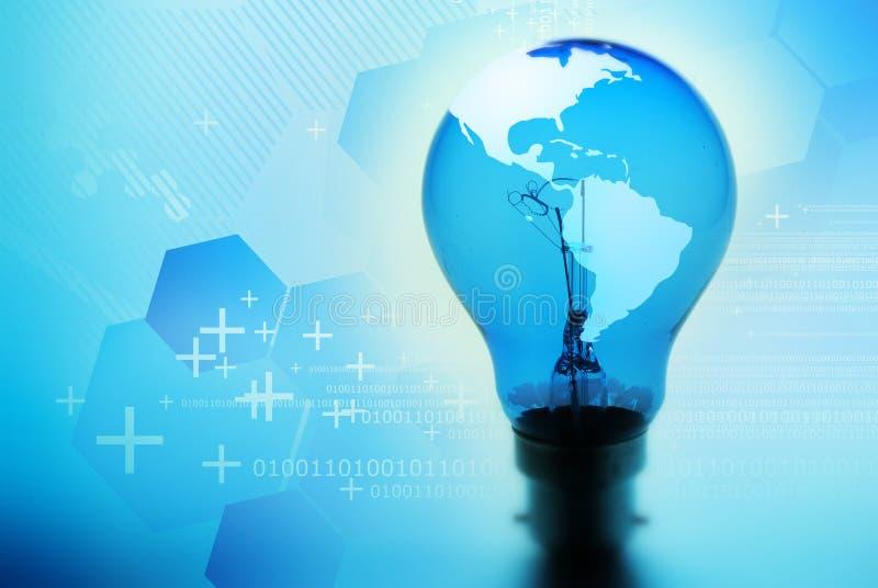 Idea della lampadina royalty illustrazione gratis