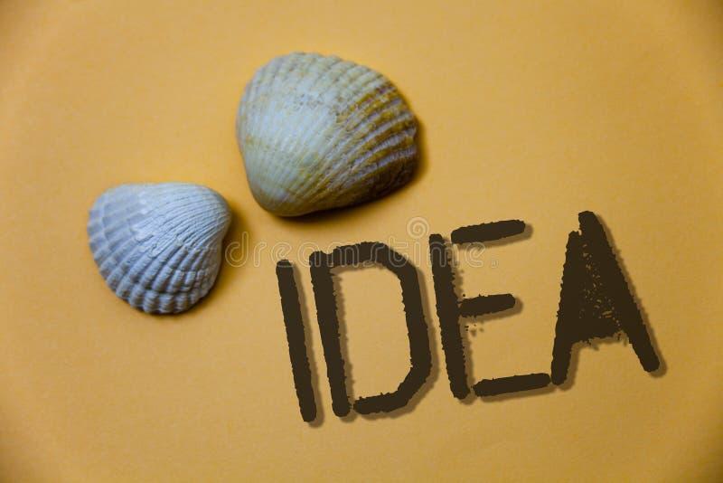 Idea di scrittura del testo della scrittura Concetto che significa i mes di pensiero innovatori creativi di idee di lerciume dell fotografie stock