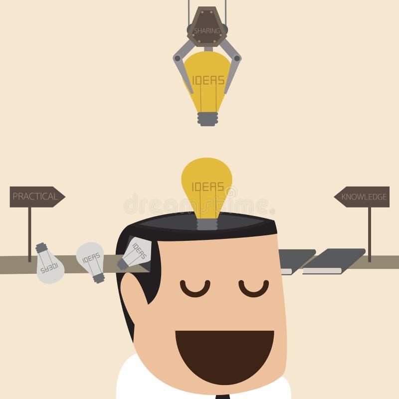 Idea factory vector illustration