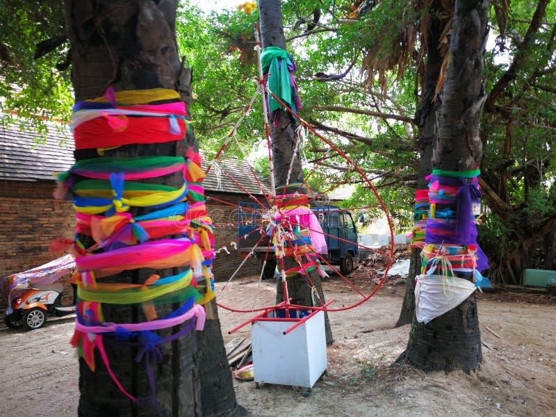 Idea hermosa agradable del árbol multicolora foto de archivo libre de regalías
